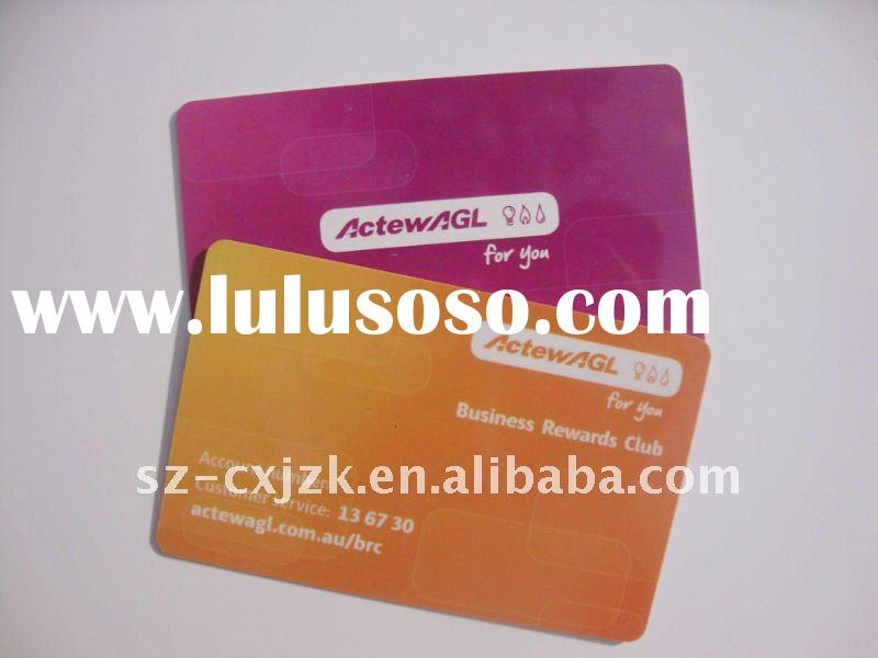 Offset Printed Plastic PVC Royalty Card