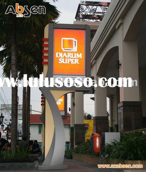 Outside full color led display screen for advertising