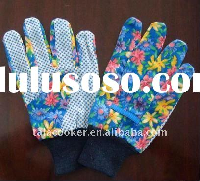 PVC Dots Garden Gloves