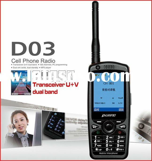 PX-D03 Cell Phone Radio two way radio mobile phone