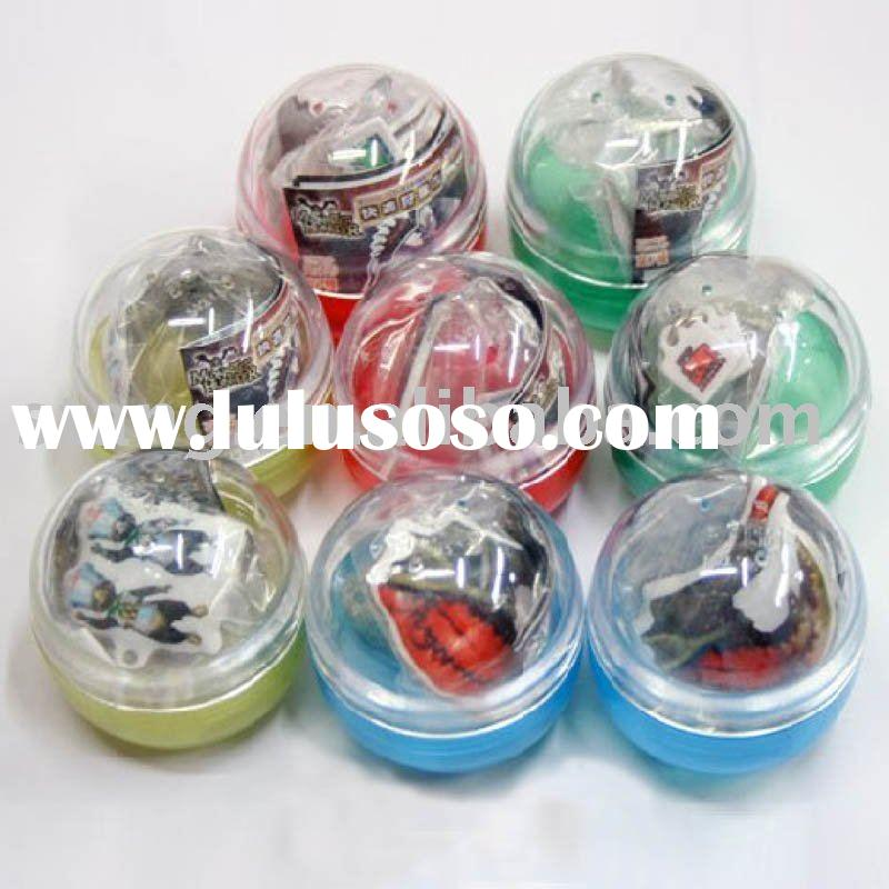 Plastic Egg Container With Toy Input