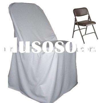 Polyester folding Chair covers, wedding chair covers