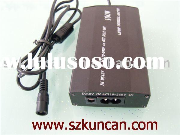 Power Supply: universal laptop AC/DC adapter