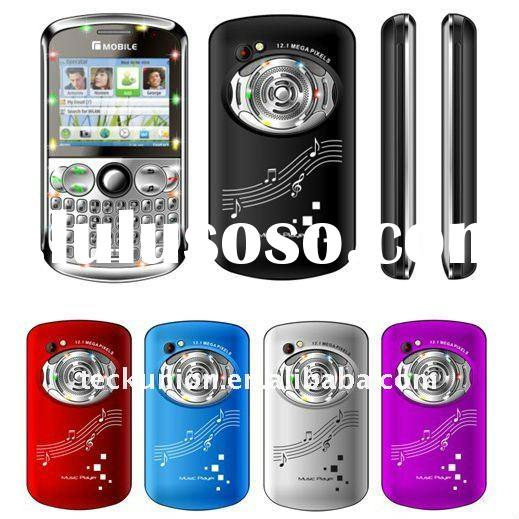 Q1000 quad band three sim card TV mobile phone