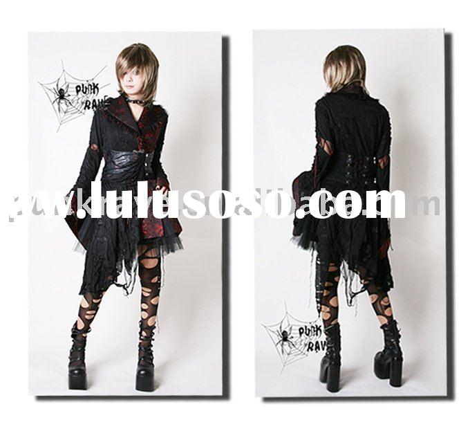 Q-093 Gothic Fashion Kimono Dress from PUNK RAV E