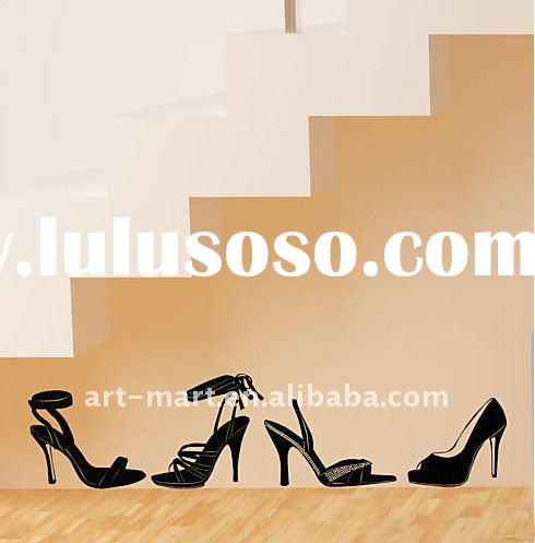 Removable Vinyl Wall Decals - Stickers - High Heel Shoes