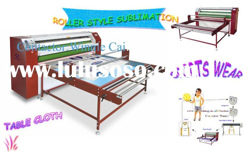 Rotary sportswear heat transfer printing machine