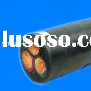 Rubber sleeve electrical cable