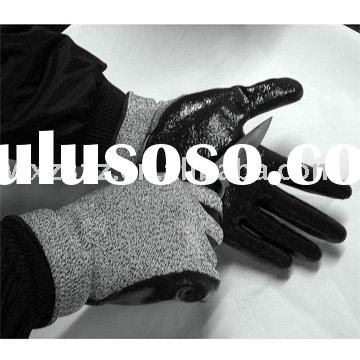 Safety glove, working glove, Super strong Polyethylene cut resistant glove