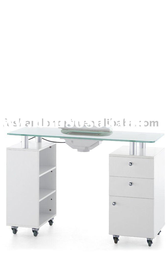 Salon nail table manicure table