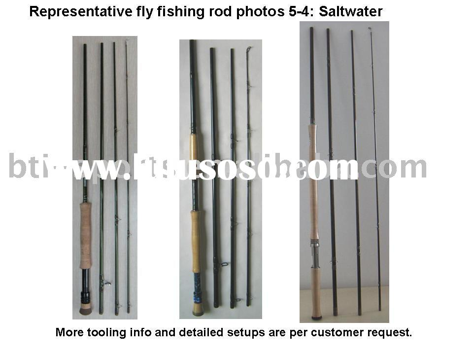 Salt water fly fishing rods