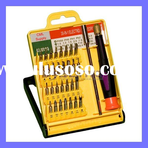 Security Bit Precision Screwdriver Set With Extension