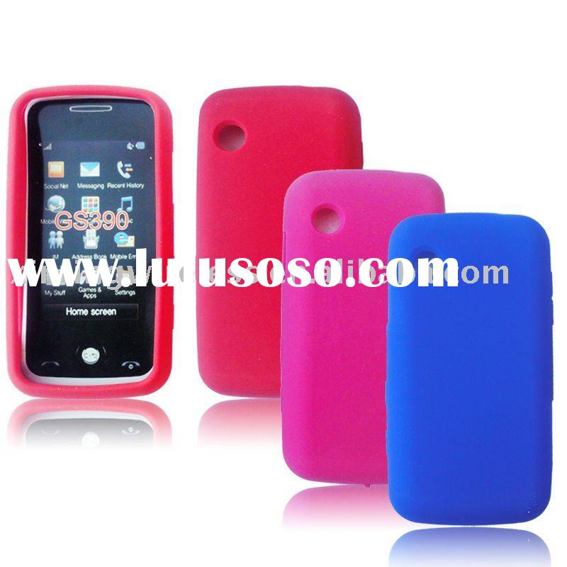Silica Gel Skin Cover Cell Phone Case for LG Prime GS390