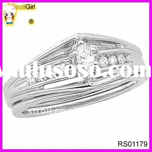 Silver plated rings jewelry
