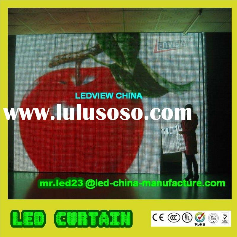 Soft LED Curtain-IP65 Full Color Video Display Screen