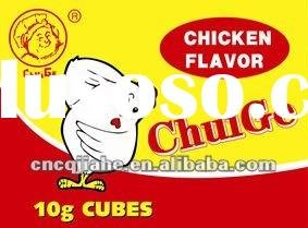 Soup Seasoning Cube with chicken flavour