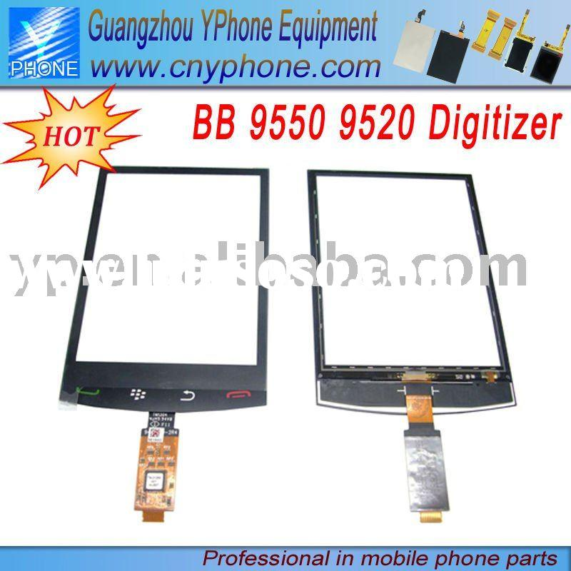Spare Parts Mobile Phone For BlackBerry 9550 9520 Digitizer