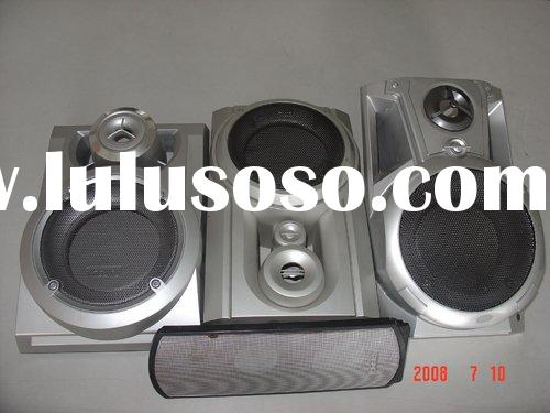 Speaker grill embedding machine