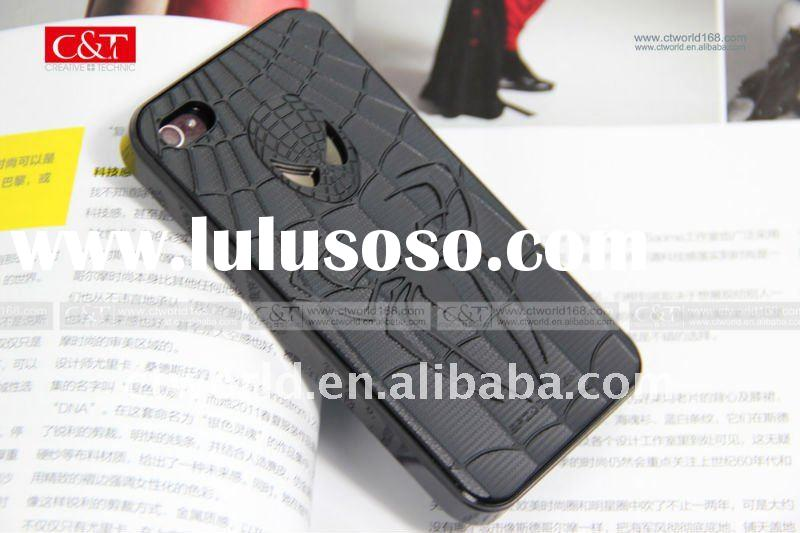 Spiderman cellphone cover for iphone 4, very cool cases for iphone mobile phone
