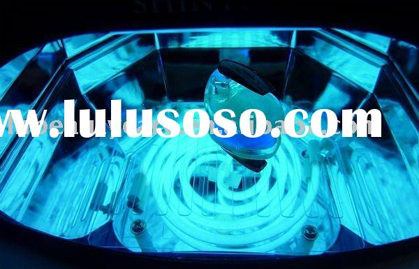 Spiral shape ccfl uv nail gel lamps beauty salon equipment & can using about 10 year if used 8 h
