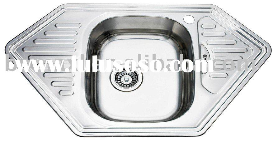 Stainless Steel Hand Sink, Undermount Corner Kitchen Sinks