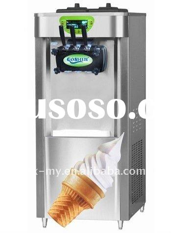 Stainless steel ice cream machine BJ418CB