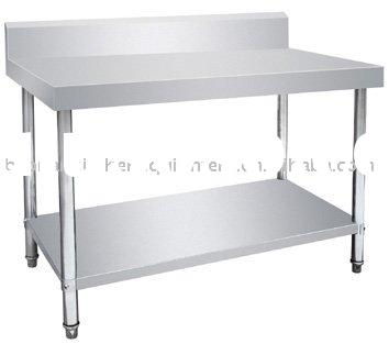 Stainless steel kitchen table/ commercial kitchen equipment