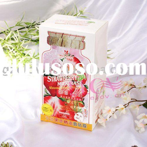 Strawberry & Milk Whitening Facial Mask Skin care
