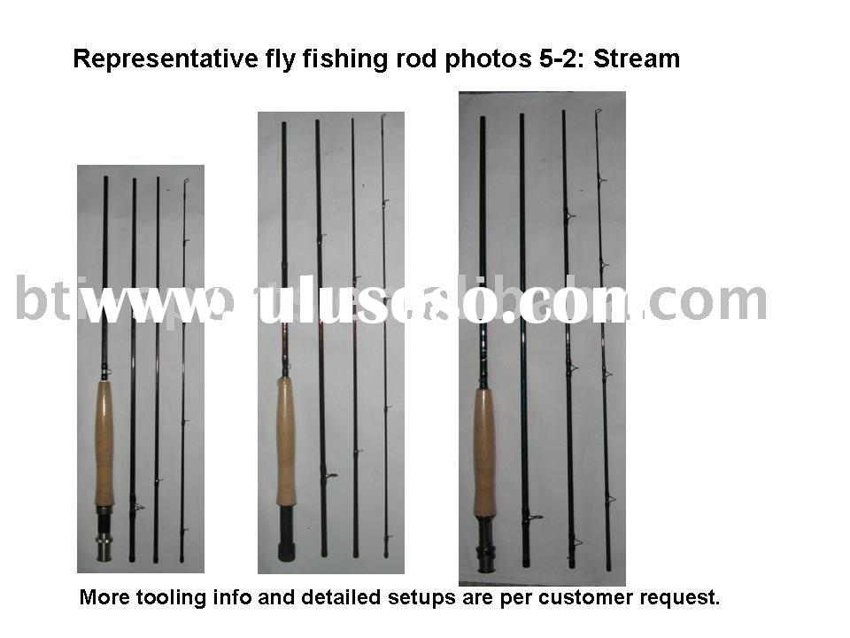 Stream fly fishing rods