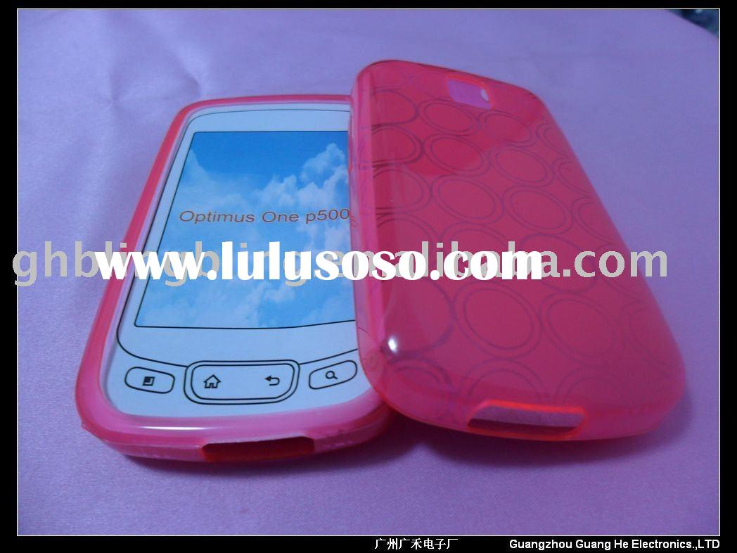 TPU Case bubble design for LG Optimus T P509/One P500