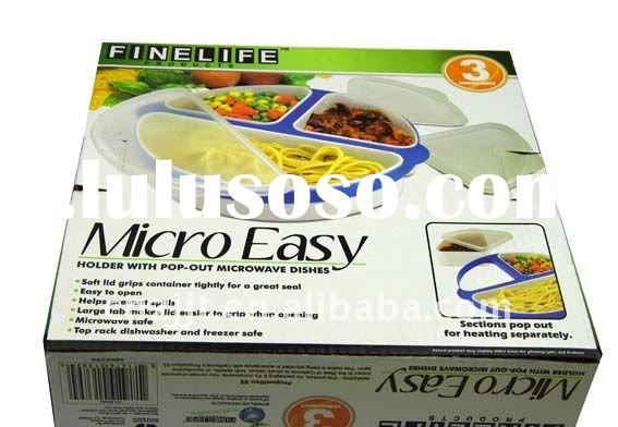 TVK71044 Micro-Easy microwave plate as seen on tv