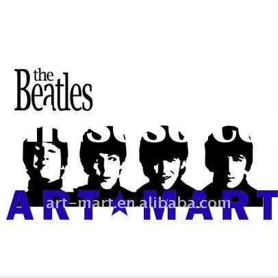 The Beatles Wall Decal Sticker- Interior Vinyl Wall Decal, Graphic, Sticker Art