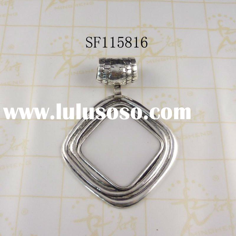 Top sales metal charms decorative pendant for scarves