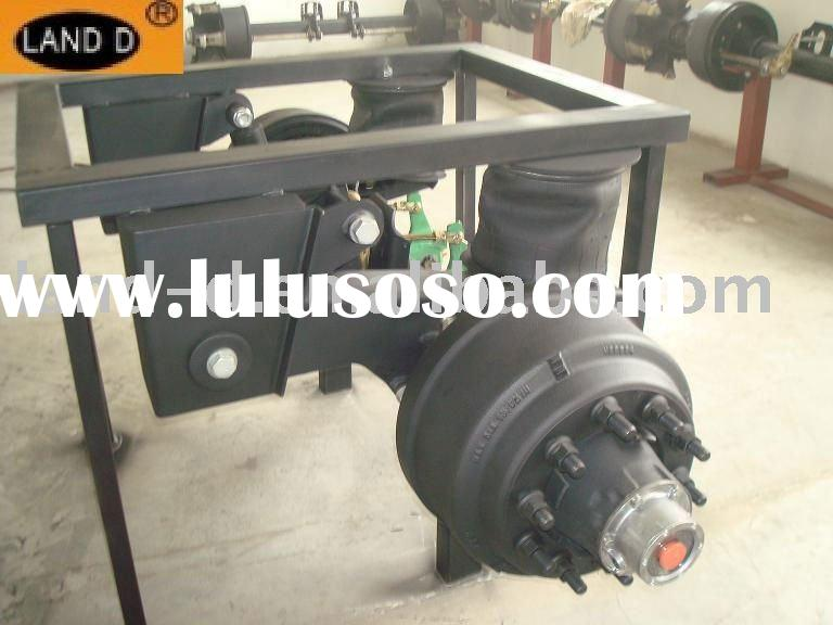 Trailer air suspension