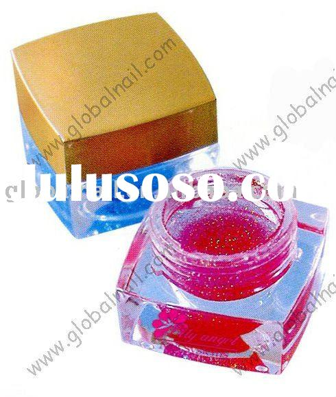 Transparent UV Glitter Gel Soak off Gel