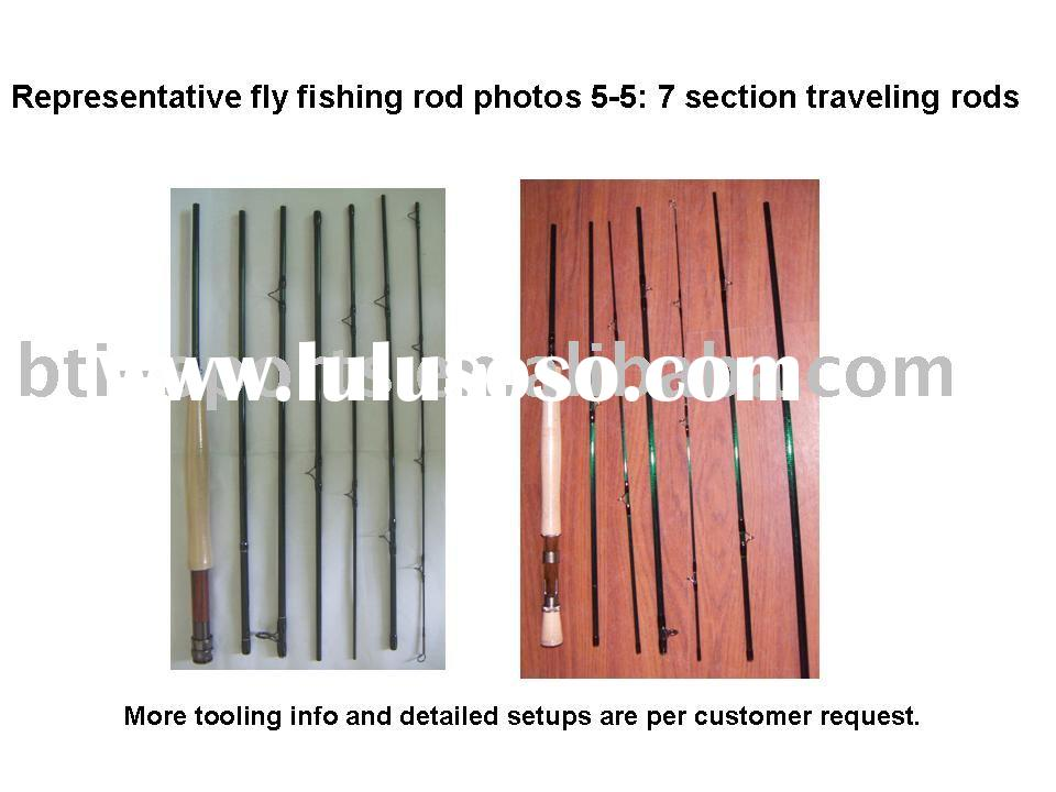 Travelling fly fishing rods