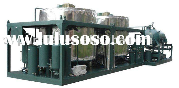 Used Car Oil/Ship oil/Motor oil Refinery plant oil purifier Oil Filtration Oil Purification