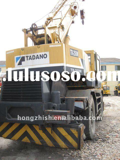 Used rough terrain crane of Tadano 25tons in low price