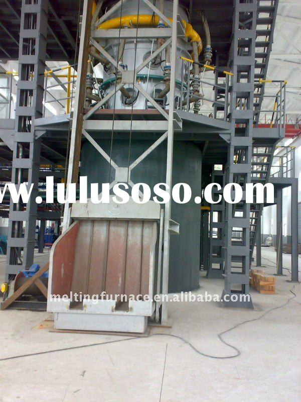 Vertical High-efficiency Energy-saving Copper Melting Furnace