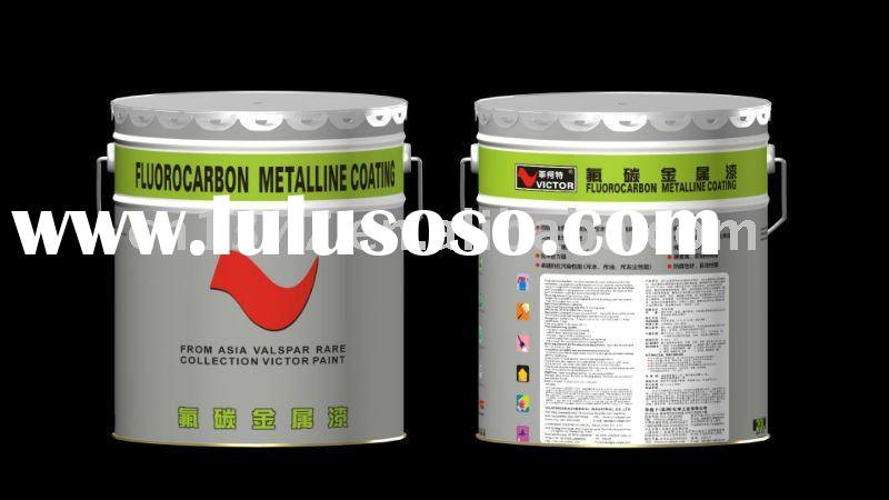 Victor Water-based Fluorocarbon Metallic Exterior Wall Paint