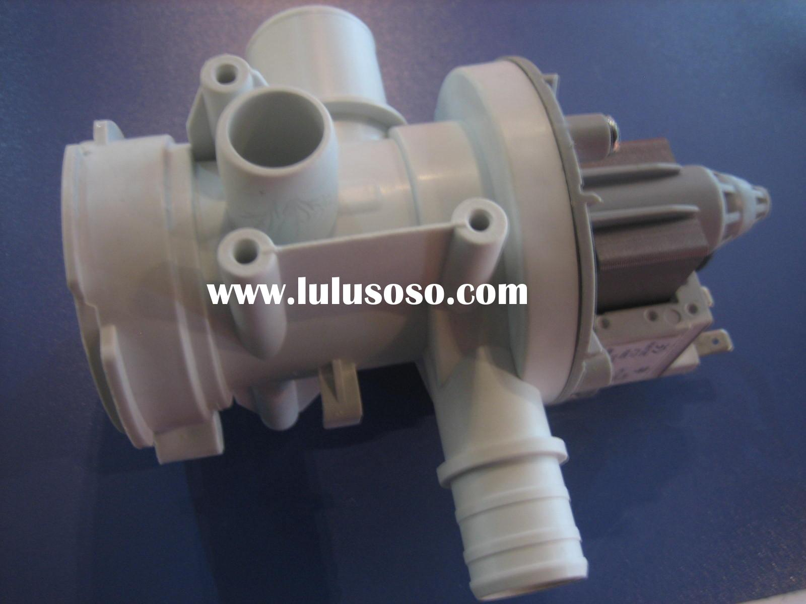 Washing machine pump