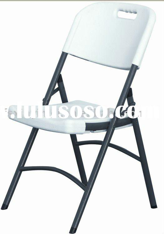 White Plastic Outdoor Folding Chair XYM-T95