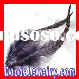 Wholesale Natural Black Hair Extensions Feathers FE0014