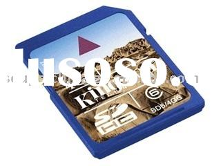 Wholesale SD Memory Card SDHC 4GB 8GB 16GB class 6 Flash Memory Card