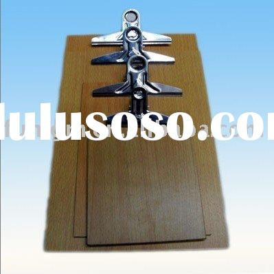 Wooden Clipboard with Metal Clip (various sizes)