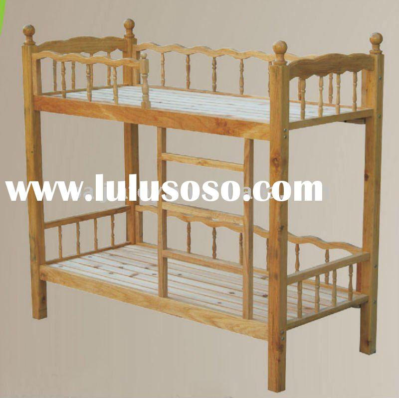 Wooden bunk bed BJ9591A