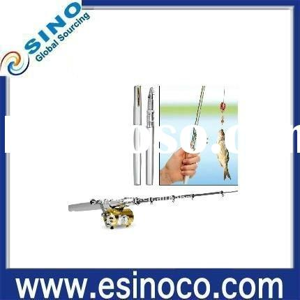 World's smallest Ultralight Pen Fishing Rod with Spinning Reel COMBO