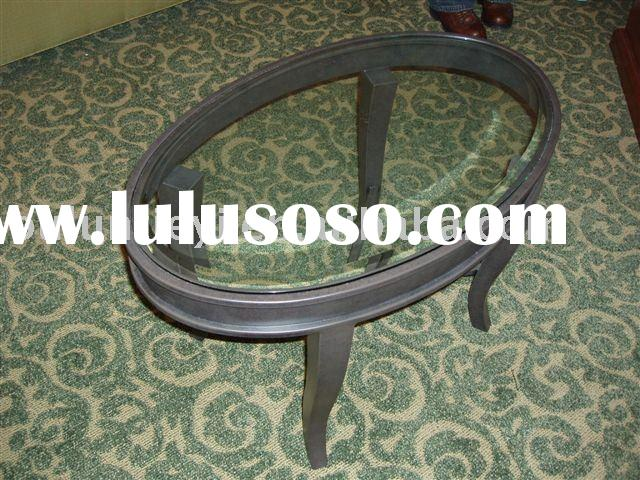 Wrought Iron Oval table&chair