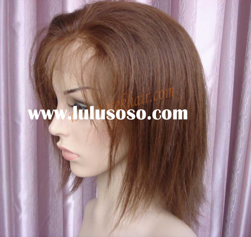 YAKI STRAIGHT indian remy hair full lace wig, 2weeks fast order or stock for choosing accept paypal!