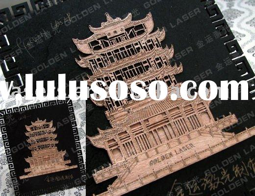 (Sample)wood laser engraving cutting machine